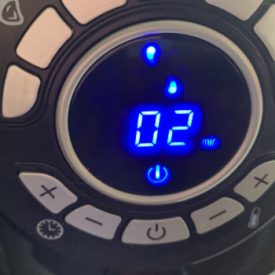 Air Fryer Set to 2 minutes