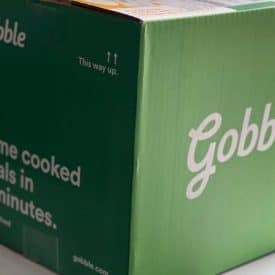 Gobble Meal Delivery Box